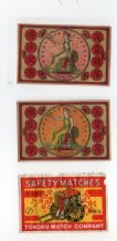 Collectible match box labels CHINA or JAPAN patriotic #795
